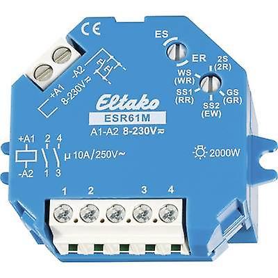 Impulse changeover switch Surface flush mount 1 pc(s) Eltako ESR61M 1 maker, 1 maker 230 Vdc, 230 V AC 10 A 2000 W