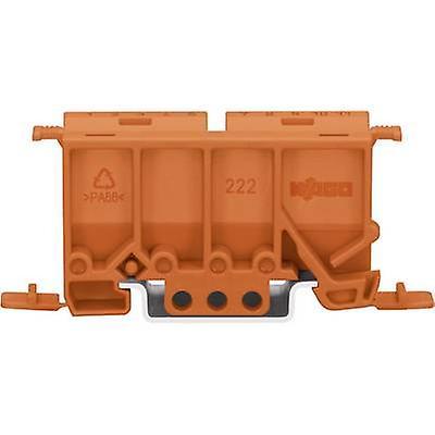 Mounting adapter WAGO 222-500 Orange 1 pc(s)
