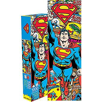 Superman Retro Slim 1000 Piece Jigsaw Puzzle