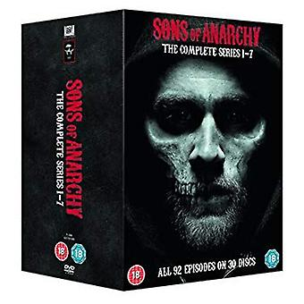 Sons Of Anarchy - Complete Seasons 1-7 DVD Box Set