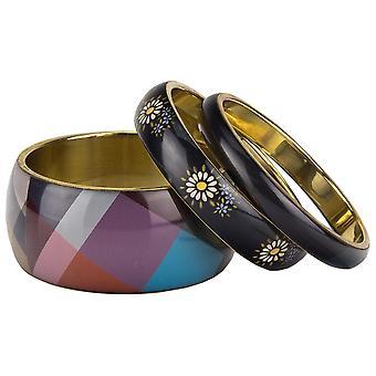Desigual sieraden armbanden vermoeien pulse Pack 3 folk Flores 17WAGOG9/4003