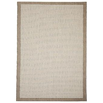 Outdoor carpet for Terrace / balcony beige natural Essentials chrome 135 / 190 cm carpet indoor / outdoor - for indoors and outdoors
