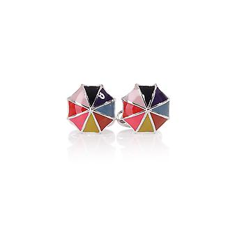 Paul Smith Accessories Mens Multistriped Umbrella Cufflinks