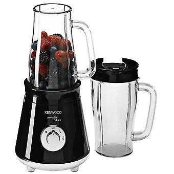 Kenwood SB056 schwarz 2GO Smoothie Maker 300W mit 2 Travel Mugs