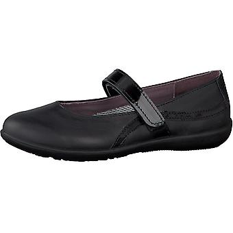 Ricosta Girls Meesha School Shoes Black