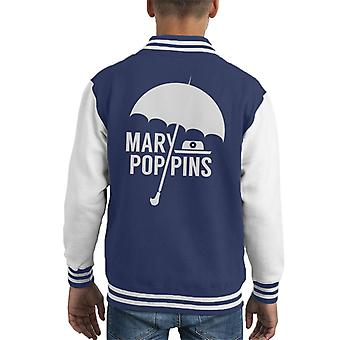 Mary Poppins MinimalKid's Varsity Jacket