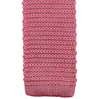 Knightsbridge Neckwear Knitted Tie - Pink