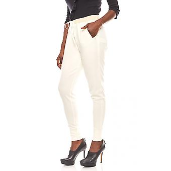 B.C.. best connections casual women's shirt pants white