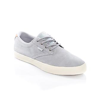 Etnies Grey-Tan Jameson Vulc Shoe