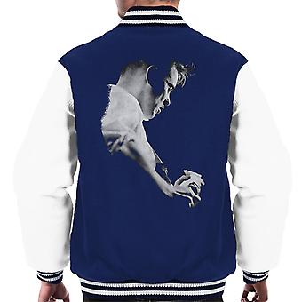 Bernard Sumner Of New Order Live Men's Varsity Jacket