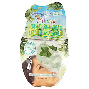7th Heaven Dead Sea Mud Sheet Face Mask