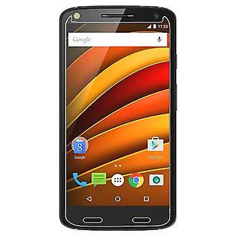 Motorola Moto X Force trempé protecteur d'écran de verre au détail