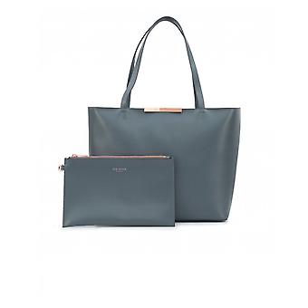 Ted Baker Soft Grain Leather Tote Bag
