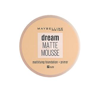 Maybelline Dream Matte Mousse Mattifying Foundation + Primer 18ml Nude (#021)