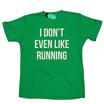 I Don't Even Like Running, Mens Tridri Activewear Top