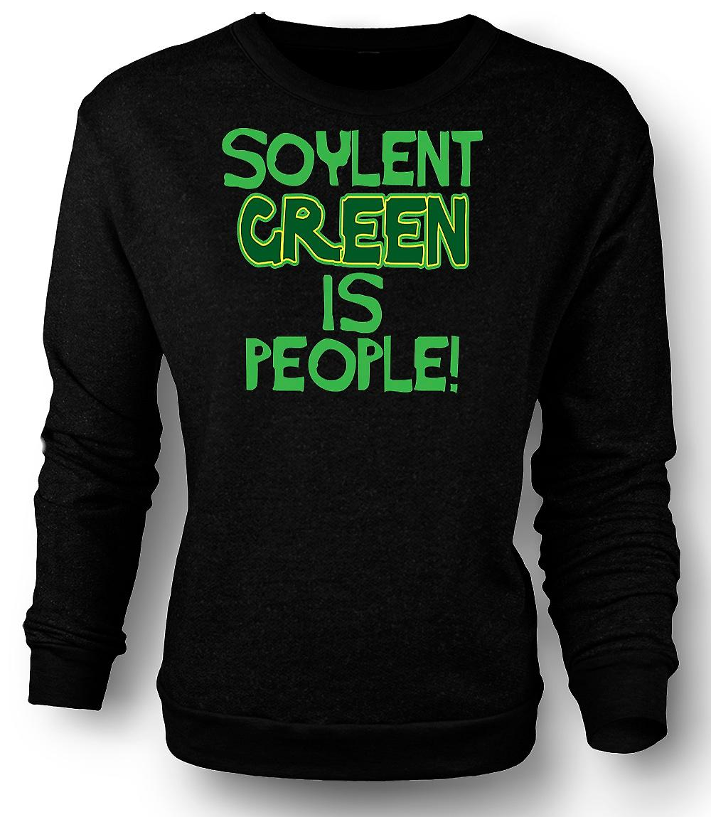 Heren Sweatshirt Soylent Green Is mensen - grappig