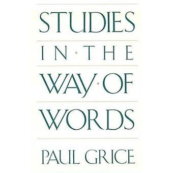 Estudos na forma de palavras por Paul Grice - livro 9780674852716