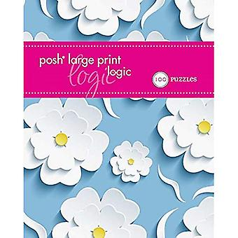 Posh logique impression grand : 100 Puzzles