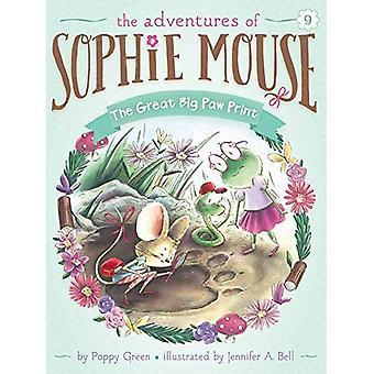 Fantastiska stora tass Print (Adventures av Sophie mus)