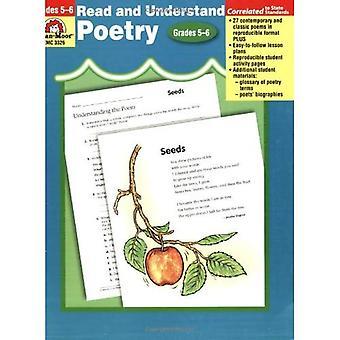 Read & Understand Poetry, Grades 5-6