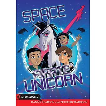 Ruimte piraat Unicorn (grafische romans)