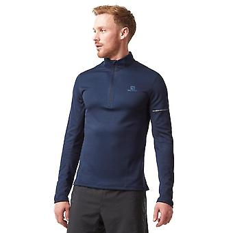 Salomon Agile Half Zip Mid-Layer Men's Running Top