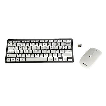 Keyboard and mouse wireless Tacens 6LEVISCOMBOV2 white