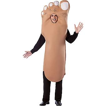 Mr Foot Adult Costume