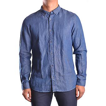Michael Kors Blue Cotton Shirt