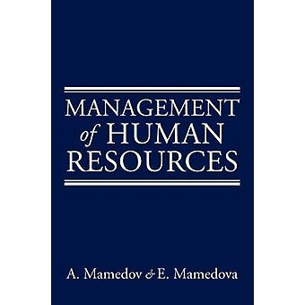 Management of Human Resources by Mamedova & A.