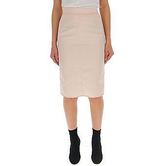 N°21 Pink Viscose Skirt