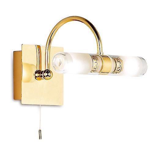 Endon 347 Switched Modern Double Bathroom Wall Light