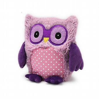 Intelex Hooty Owl Fully Microwavable Toy: Purple