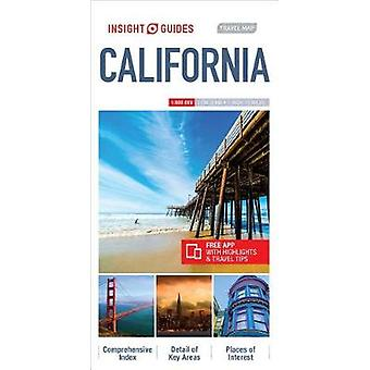 Insight Guides Travel Map California by Insight Guides - 978178671929