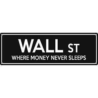 Grindstore Wall St Slim Tin Sign
