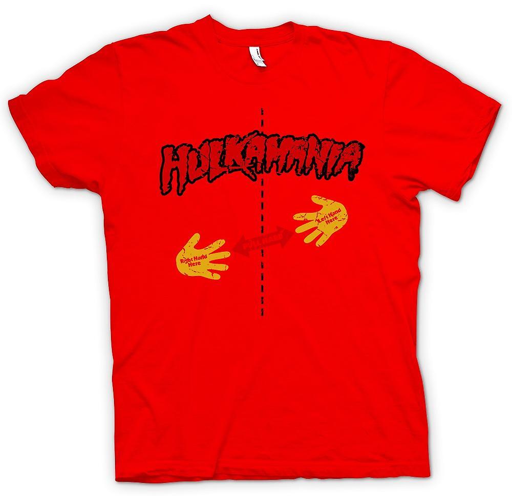 Mens T-shirt-Hulk Mania - Rip Shirt - Pull hier