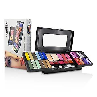 Cameleon MakeUp Kit Deluxe G2215 (24x Eyeshadow, 3x Blusher, 2x Pressed Powder, 5x Lipgloss, 2x Applicator)