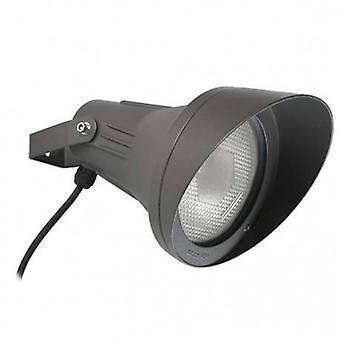 1 Light Outdoor Spotlight Urban Grey Ip65