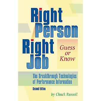 Right Person Right Job - Guess or Know (2nd) by Chuck Russell - 978087