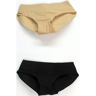 Zlimmy Glammyz Set of Two Padded Brief Shaper Black / Nude Beige C410266