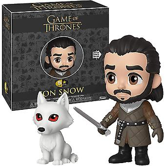 Game of Thrones Jon Snow 5-Star Vinyl