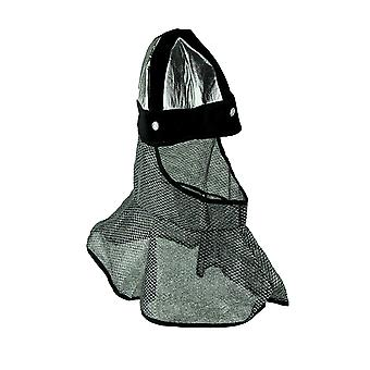 Chainmail Coif and Helmet Faux Armor Costume Accessory