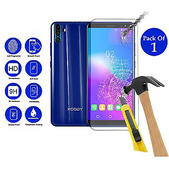 Pack of 1 Tempered Glass Screen Protection For XGODY Y28  6