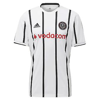 2019-2020 Orlando Pirates Adidas Home Football Shirt