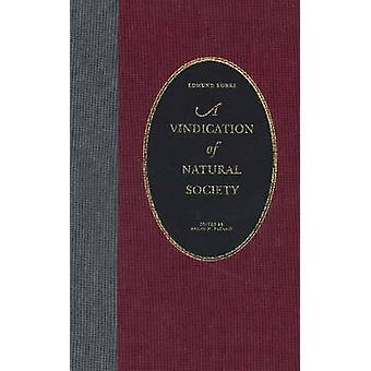 A Vindication of Natural Society by Edmund Burke - Frank N. Pagano -