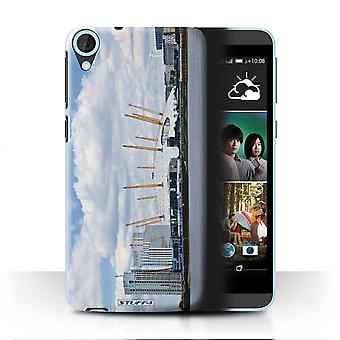 STUFF4 Tilfelle/Cover for HTC Desire 820s dobbelt/Millennium Dome/London nettsteder