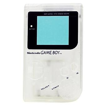Replacement housing shell case repair kit for nintendo game boy dmg-01 - clear