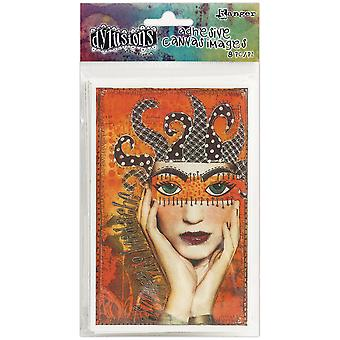 Dyan Reaveley's Dylusions Adhesive Canvas 3.375