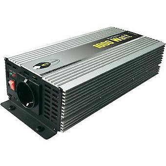 Inverter e-ast HighPowerSinus HPLS 1000-24 1000 W 24 Vdc 24 V/DC (22 – 28 V) Screw terminals PG socket
