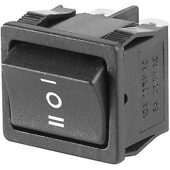 Toggle switch 250 Vac 6 A 2 x On/Off/On SCI R13-33D-02 latch/0/latch 1 pc(s)